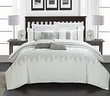 Chic Home Lauren 12 Pc Comforter Set Collection