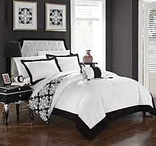 Chic Home Trina 8 Pc Duvet Set Collection