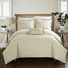 Chic Home Hartford 8 Pc Duvet Set Collection