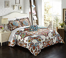 Chic Home Feinch 8 Pc Duvet Set Collection