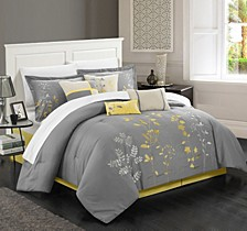 Bliss Garden 12 Pc King Comforter Set