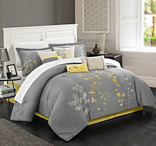 Chic Home Bliss Garden 12 Pc Comforter Set Collection