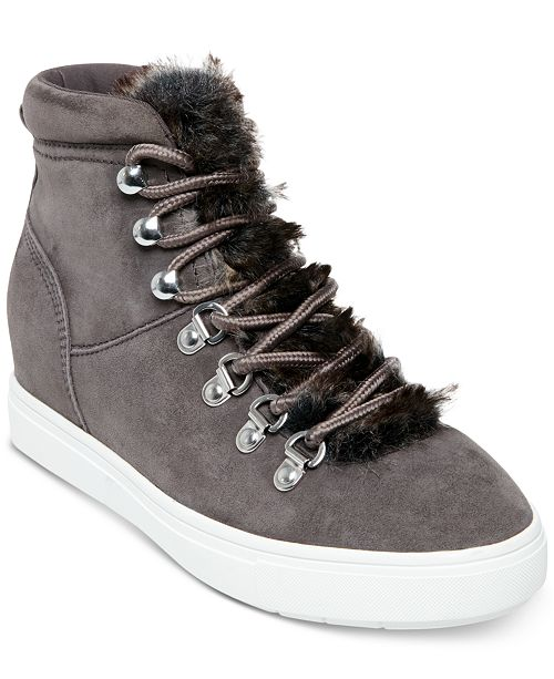 7ffa98cf4528 ... STEVEN by Steve Madden Women s Kalea Lace-Up Hiker Sneakers ...
