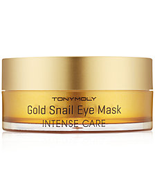 TONYMOLY Intense Care Gold Snail Eye Mask, 60-Pk. (30 pairs)