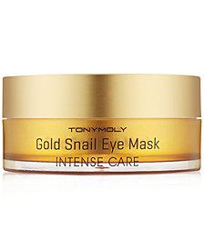 TONYMOLY Intense Care Gold Snail Eye Mask, 60-Pk. (30 pairs)