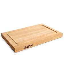 "John Boos Hard Rock Maple BBQ 18"" x 12"" Cutting Board"