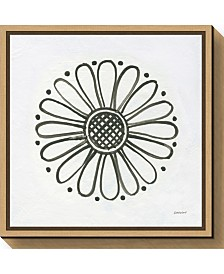 Amanti Art Patterns of the Amazon Icon XV by Kathrine Lovell Canvas Framed Art