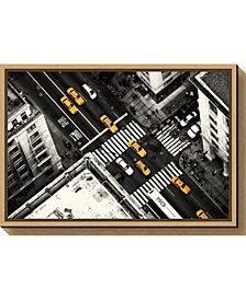 Amanti Art Yellow Flow by Stefan Kloren Canvas Framed Art
