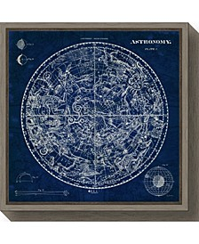 Celestial Blueprint by Susan Schlabach Canvas Framed Art