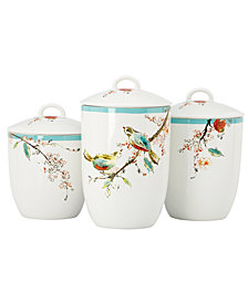 Lenox Simply Fine Canisters, Set of 3 Chirp