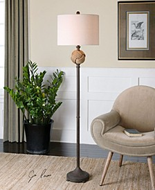 Higgins Rope Sphere Floor Lamp