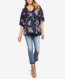 Jessica Simpson Maternity Cropped Jeans