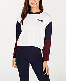 Tommy Hilfiger Colorblock Logo Lounge Pullover