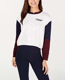 Tommy Hilfiger Colorblock Logo Lounge Pullover R27S059