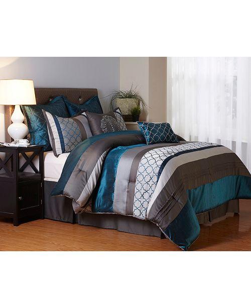Nanshing Avalon 8 PC Comforter Set, King