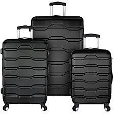 Travel Select Luggage Omni 3-Piece Hardside Spinner Luggage Set