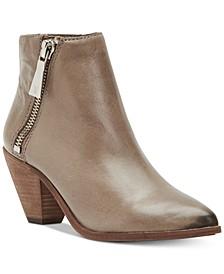 Women's Lila Zip Leather Booties