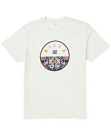 Billabong Mens Rotor-Fill Graphic T-Shirt