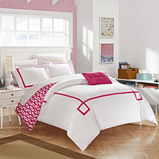 Chic Home Kendall 4 Pc King Duvet Cover Set