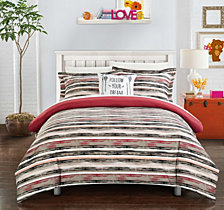 Chic Home Karan 4 Pc Full Duvet Cover Set