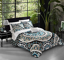 Chic Home Lacey 4 Pc King Duvet Cover Set