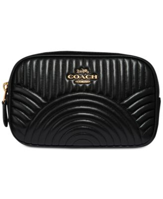 COACH Deco Belt Bag in Quilted Leather   Reviews - Handbags   Accessories -  Macy s 0ddecae918106