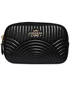 Deco Belt Bag in Quilted Leather
