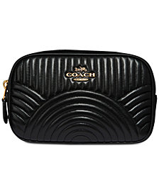 COACH Deco Quilting Belt Bag