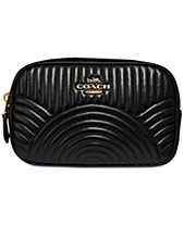 COACH Deco Belt Bag in Quilted Leather 2b93172712