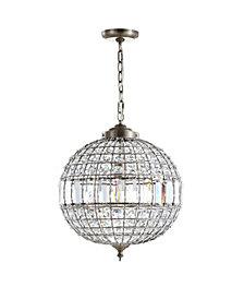 "Georgina 16"" Crystal,Metal LED Chandelier Pendant"