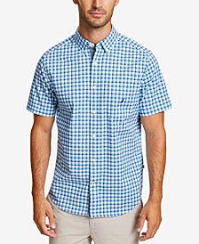 Nautica Men's Casual Plaid Checked Shirt