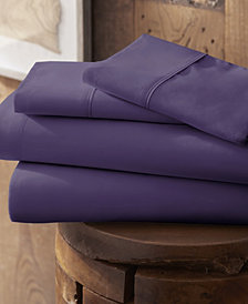 Style Simplified by The Home Collection 4 Piece Bed Sheet Set, Full