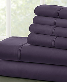 Home Collection Luxury Ultra Soft 6 Piece Bed Sheet Set - Full