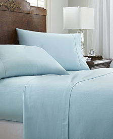 Expressed In Embossed Chevron 4 Piece Bed Sheet Set- California King