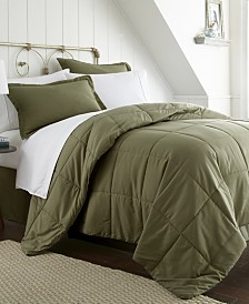 A Beautiful Bedroom 8 Piece Bed in a Bag Set by The Home Collection, Queen