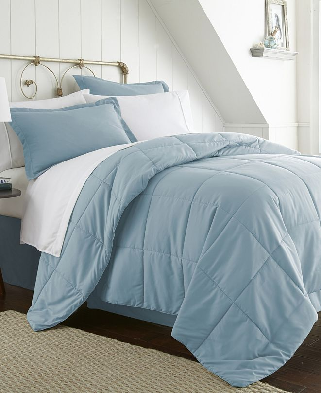 ienjoy Home A Beautiful Bedroom 8 Piece Bed in a Bag Set by The Home Collection, Cal King
