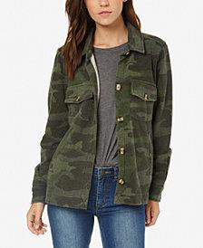 O'Neill Juniors' Skylar Camo-Print Fleece Jacket