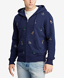 Polo Ralph Lauren Men's Embroidered Fleece Hoodie