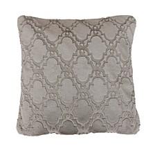 Mia Lattice Pillows and Decorative Throw Set, Pack Of 2