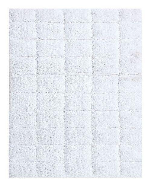 Castle Hill London Summer Tile 20x30 Cotton Bath Rug