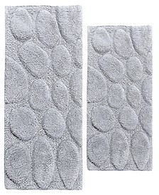 Palm 2 Pc Cotton Bath Rug Set