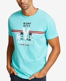 Nautica Men's Surf City Graphic T-Shirt