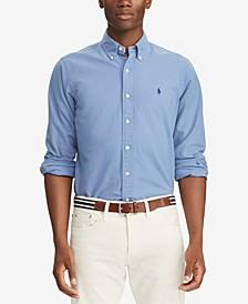 Men's Big & Tall Classic Fit Oxford  Shirt