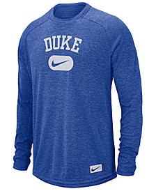 Nike Men's Duke Blue Devils Stadium Long Sleeve T-Shirt