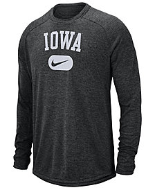 Nike Men's Iowa Hawkeyes Stadium Long Sleeve T-Shirt