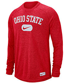 Nike Men's Ohio State Buckeyes Stadium Long Sleeve T-Shirt