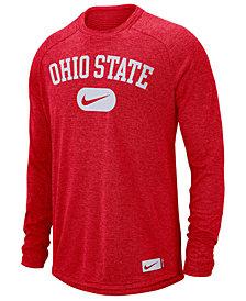 Nike Men's Ohio State Buckeyes Stadium Long Sleeve T-Shirt