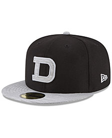 New Era Detroit Tigers Black Heather Coop 59FIFTY Fitted Cap