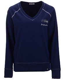 '47 Brand Women's Seattle Seahawks Dakota Jumper Pullover Sweatshirt