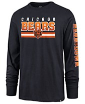 47 Brand Men s Chicago Bears Level Up Long Sleeve Super Rival T-Shirt bb40f3c84